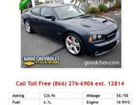 2006 Dodge Charger Srt-8 SRT8 Sedan Silver RWD V8 6.1L