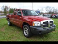 Stock #A8609. 2006 Dodge Dakota 'ST' Club Cab!! 4X4,