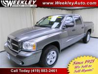 THIS DODGE DAKOTA IS A ONE OWNER, LOCAL TRADE, THAT WE