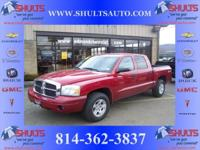 Options Included: N/A2006 Dodge Dakota SLT (3.7L V6)