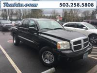 WOW!!! Check out this. 2006 Dodge Dakota SLT Black 4.7L