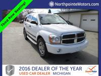 Options:  2006 Dodge Durango Slt|White|We Finance!