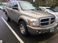 WOW!!! Check out this. 2006 Dodge Durango SLT Light