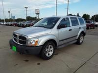 Silver 2006 Dodge Durango SXT 4WD 5-Speed Automatic