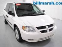 Grand Caravan Cargo Van, White, Air Conditioning, AM/FM