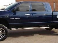 2006 Dodge Mega Cab 2500 5.9l Cummins Turbo Diesel 4x4