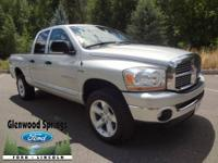 4WD, SLT, QUAD CAB, HEMI V8, TOW PACKAGE, REAR WINDOW,