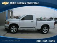 Options Included: N/A2006 DODGE RAM Reg Cab 43K Miles