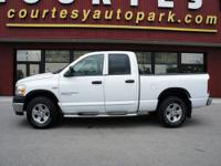 This white 2006 Dodge Ram 1500 SLT Big Horn Edition