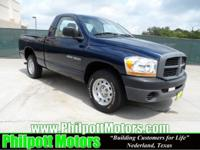 Options Included: N/A2006 Dodge Ram 1500 Regular Cab,