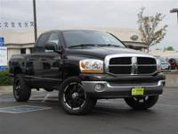 This 2006 Dodge Ram 1500 SLT 4x4 Truck features a 5.7L