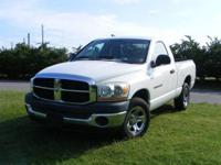 This outstanding example of a 2006 Dodge Ram 1500 ST is
