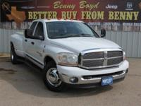 (512) 948-3430 ext.1127 This 2006 Ram 3500 is priced in