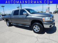 Automax Norman is proud to offer this superb 2006 Dodge
