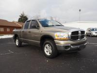 Options:  2006 Dodge Ram 1500 Slt|Slt 4Dr Quad Cab 4Wd