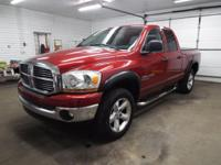 This is a VERY sharp looking 2006 Ram Quad Cab SLT 4x4!