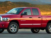 Sturdy and dependable, this 2006 Dodge Ram 1500 SLT
