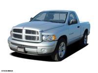 This BLACK 2006 Dodge Ram 1500 2DR REG CAB 120.5 ST