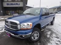 Options:  2006 Dodge Ram 2500 Laramie|Carfax One-Owner.