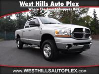 RAM 2500 LARAMIE QUAD CAB 4WD  Options:  Abs Brakes