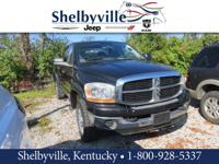 2006 Dodge Ram 2500 SLT 4WD 6-Speed Manual Cummins 600