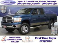 **** JUST IN FOLKS! THIS 2006 DODGE RAM 2500 SLT HAS