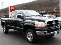 2006 Dodge Ram 2500 Black SLT 4WD, ABS brakes, Compass,