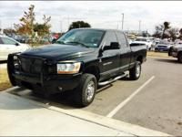 JUST TRADED!!!  2006 Dodge Ram 2500 Diesel 4 x 4 Very