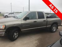 Clean CARFAX. 2006 Dodge Ram 2500 RWD 6-Speed Manual