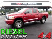 From work to river, this Red 2006 Dodge Ram 3500