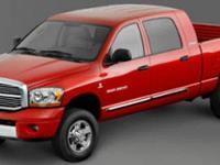 Dodge Ram 3500 SLT Black 4WDOdometer is 25929 miles
