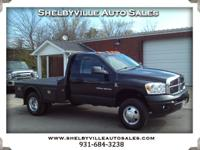 Options:  2006 Dodge Ram 3500 Hard To Find!! 6 Speed