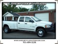 Options:  2006 Dodge Ram 3500 Nice Truck!! 4Wd Quad Cab
