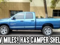 COMES with camper shell! 2006 Dodge Ram SLT 1500 4dr