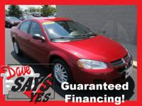 2006 Dodge Stratus Sedan SXT Our Location is: Dave