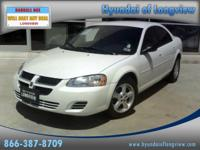 Options Included: N/A2006 DODGE Stratus Sdn 4dr SXTIf