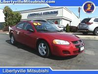 Options:  2006 Dodge Stratus Sxt|Red|Clean Carfax. 2006