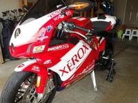 Up for sale is my Ducati 999R Xerox limited edition.