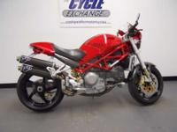 2006 Ducati Monster S4R This red with black stripe