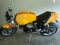 2006 Ducati Sport 1000 monoposto| Burnt Yellow/Orange |