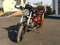 DUCATI SPORT CLASSIC 1000 Cafe Racer!!!!!Up for sale my