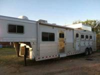 2006 Elite 4 Horse Trailer 5th Wheel This 42 foot RV