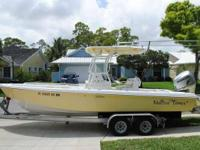 2006 Everglades Boats 243 CC Boat is located in Orange