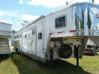 Gator Horse Trailers has this very clean and upgraded
