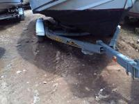 2006 EZ Loader 24' galvanized roller trailer with