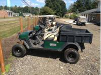 This is a 2006 Ezgo MPT 1200 utility cart tha has s