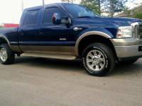 2006 Ford F-250 Diesel King Ranch 4x4 of which I am the
