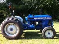 2006 Blue Farm Trac 555 Power Steering, 50hp, Only 310