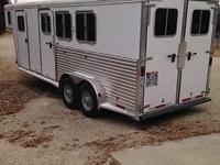 2006 Featherlite 3 Steed slant tons Steed Trailer, This