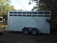 For Sale: 2006 Featherlite 16' long x 7' tall livestock